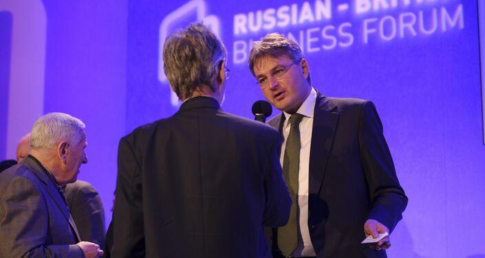Daniel Kawczynski, Conservative MP for Shrewsbury, talks to Sputnik at the Russian-British Business Forum