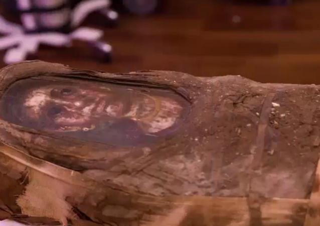 New details emerge following CT scan of Hibbard Mummy