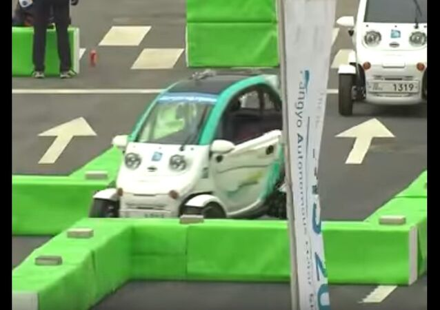 Unmanned Vehicles Compete in Races in South Korea