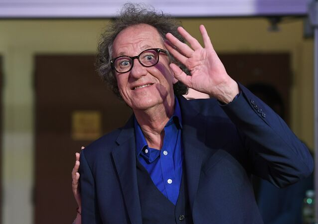 Actor Geoffrey Rush attends National Geographic's 'Genius' Premiere during the 2017 Tribeca Film Festival at BMCC Tribeca PAC on April 20, 2017 in New York City