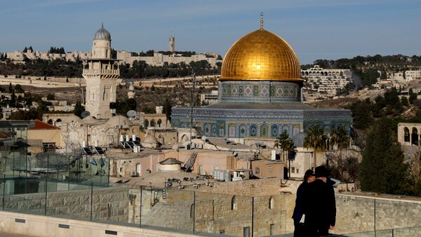 A general view shows the Dome of the Rock and Jerusalem's Old City December 4, 2017 - Sputnik International