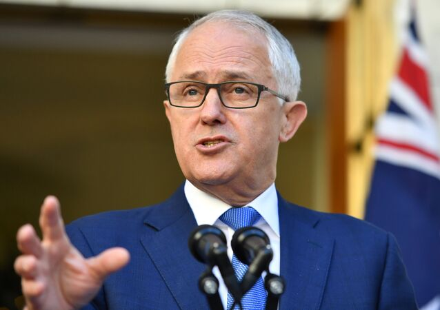 Prime Minister Malcolm Turnbull speaks at a news conference at Parliament House in Canberra November 30, 2017.