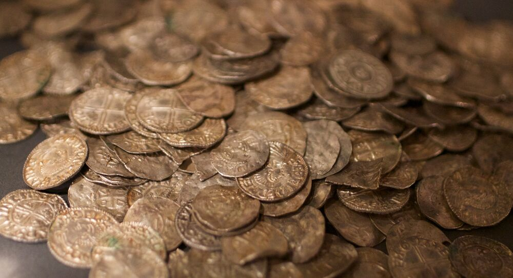 Viking coins (photo used for illustration purpose only)