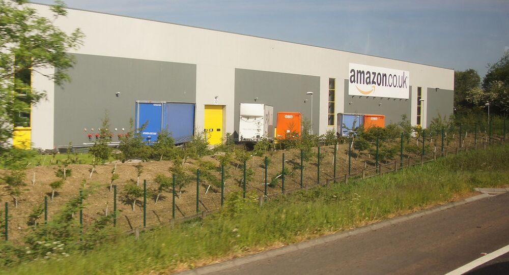 Amazon warehouse, Dunfermline