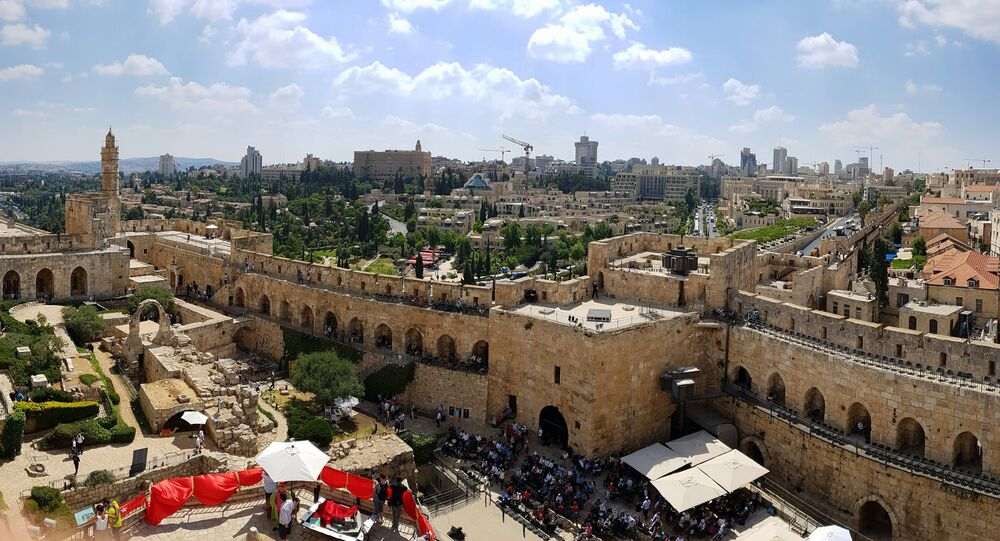 View from Tower of David, Jerusalem