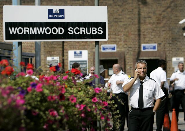 Wormwood Scrubs prison in west London