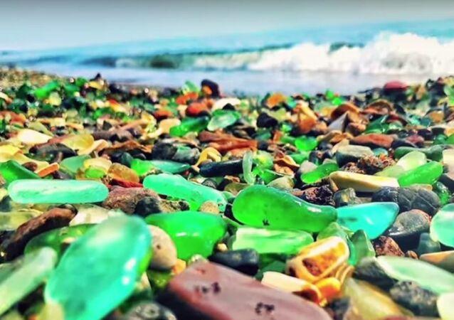 Glass Beach in Primorye