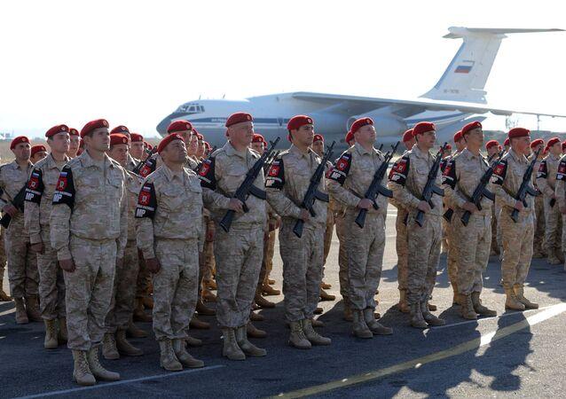 President Vladimir Putin visits Khmeimim Air Base in Syria