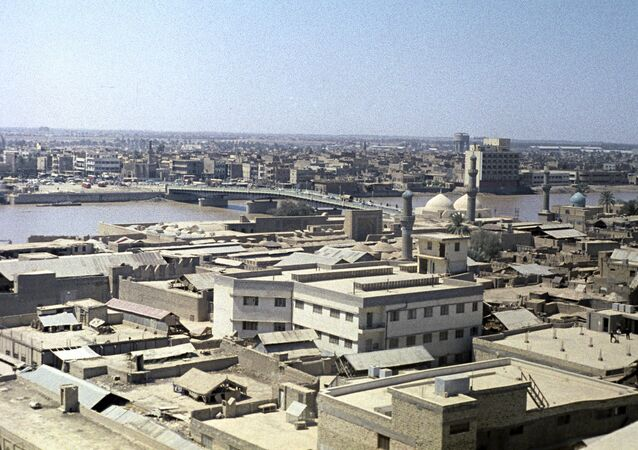 View of Baghdad,capital of Iraq. (File)