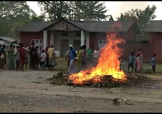 Tea Garden Clash , Assam