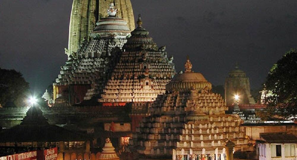 The Shree Jagannath Temple at Puri