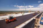 Crimean Bridge construction