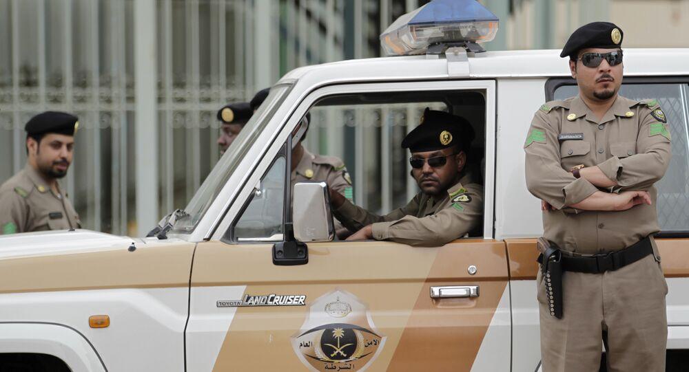 Saudi policemen (File)