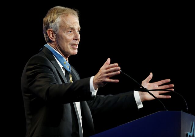 Former British Prime Minister Tony Blair (File)