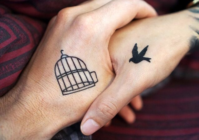 Bird and cage