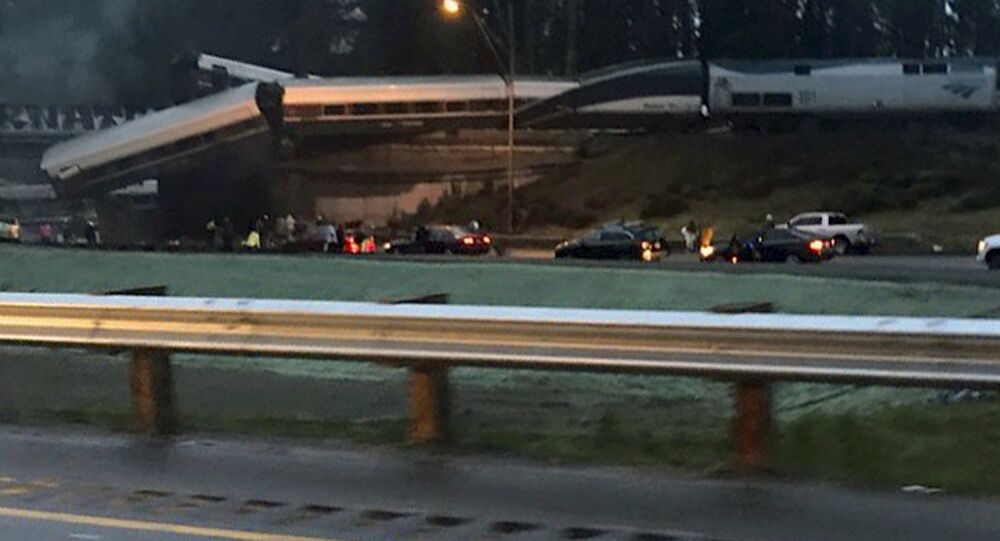 Amtrak train that derailed south of Seattle