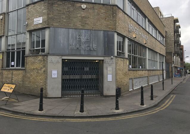 General view of the Mangle nightclub in Dalston, east London on Monday April 17, 2017