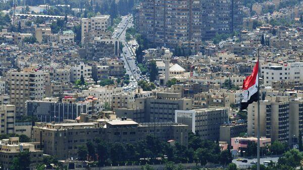 A view of Damascus from Qasioun Mountain - Sputnik International