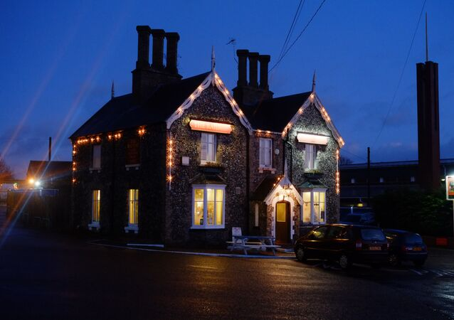 The Railway pub, Thetford. Sputnik ©