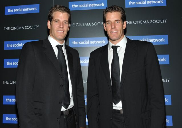 Twins Cameron Winklevoss and Tyler Winklevoss attend a special screening of 'The Social Network' in New York. (File)