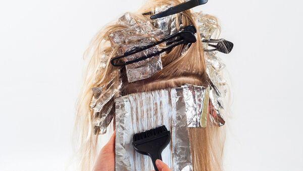 A woman in a hair salon - Sputnik International
