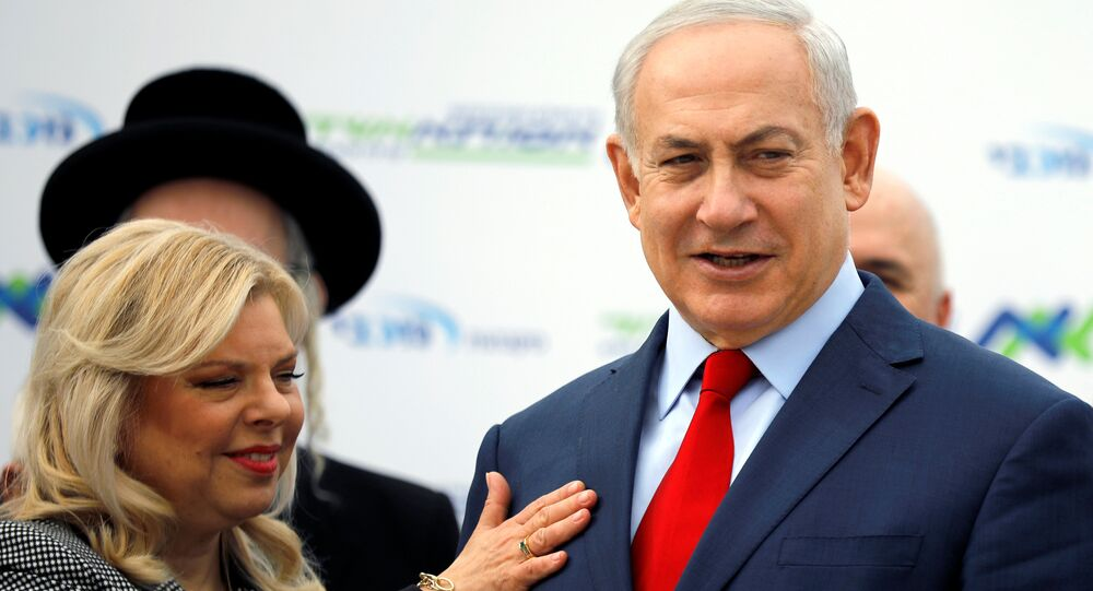 Israeli Prime Minister Benjamin Netanyahu and his wife Sara attend a dedication ceremony of the Assuta hospital in Ashdod, Israel December 21, 2017