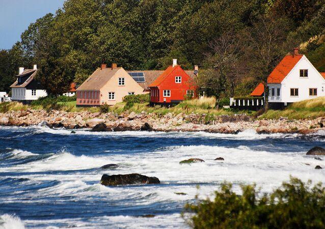 The Bornholm coast