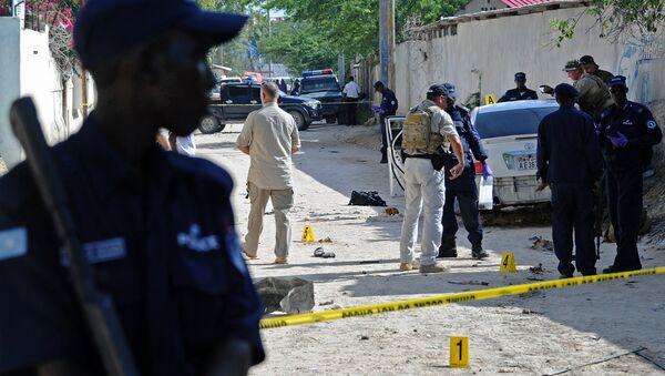 Security officers in Somalia. (File) - Sputnik International