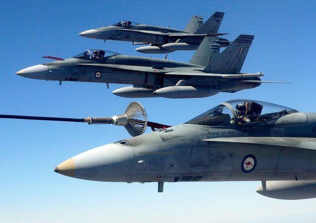 (File) Australian Air Force (RAAF) F/A-18 Hornet fighter jets