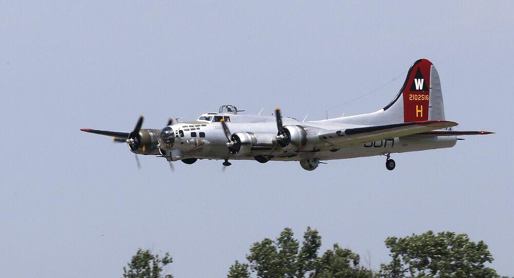 World War II-era B-17 bomber. File photo.