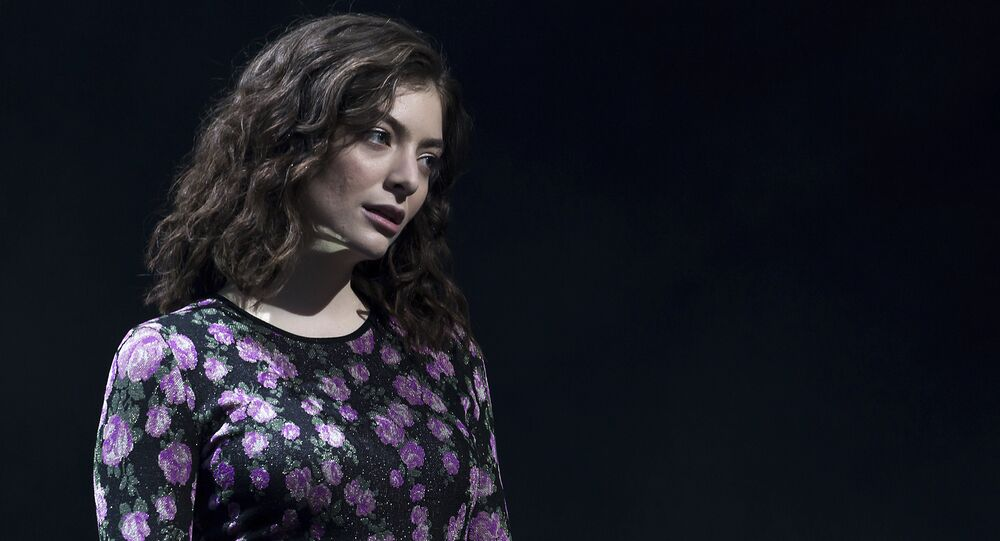 Singer Lorde performs on the 'Other Stage' at the Glastonbury music festival at Worthy Farm, in Somerset, England, Friday, 23 June 2017