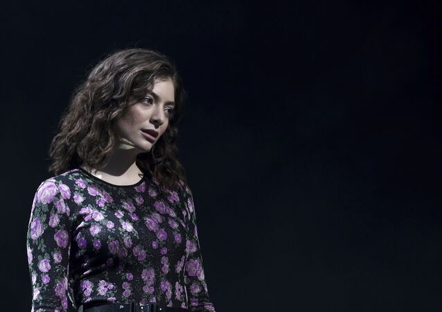 Singer Lorde performs on the 'Other Stage' at the Glastonbury music festival at Worthy Farm, in Somerset, England, Friday, June 23, 2017
