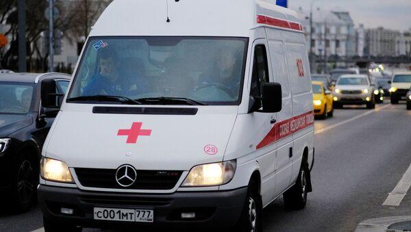 An ambulance vehicle in Moscow - Sputnik International