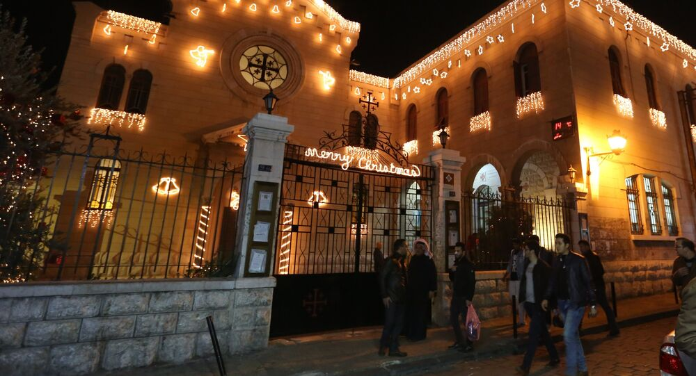 The celebration of Christmas in Syria