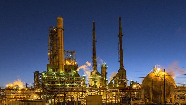 Oil Refinery - Sputnik International