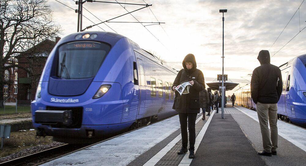 Commuter trains in Sweden