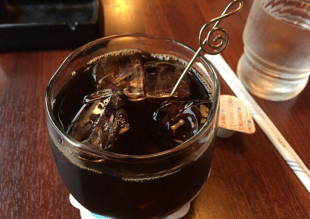 Ice brewed coffee