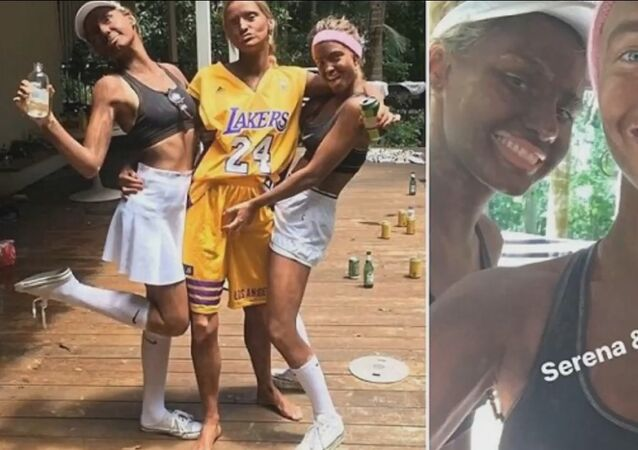 Model causes outrage after wearing blackface to party