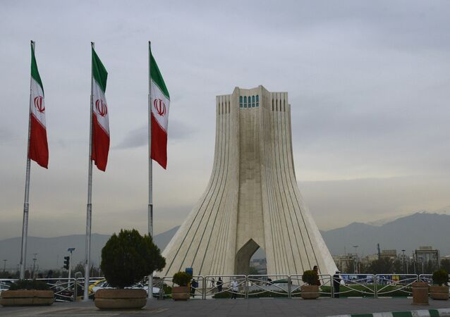 Azadi Tower on Tehran's Azadi Square