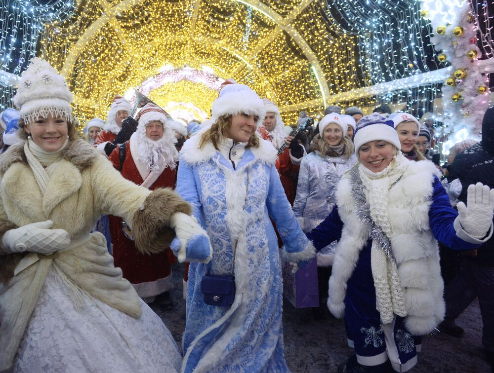 Snow Maidens From Around the World
