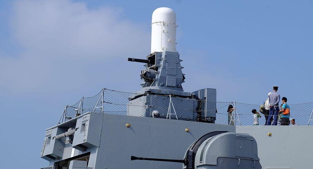 Phalanx CIWS and Bofors 40mm L70 Gun