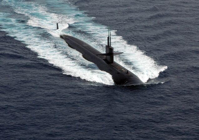 Los Angeles class attack submarine. File photo