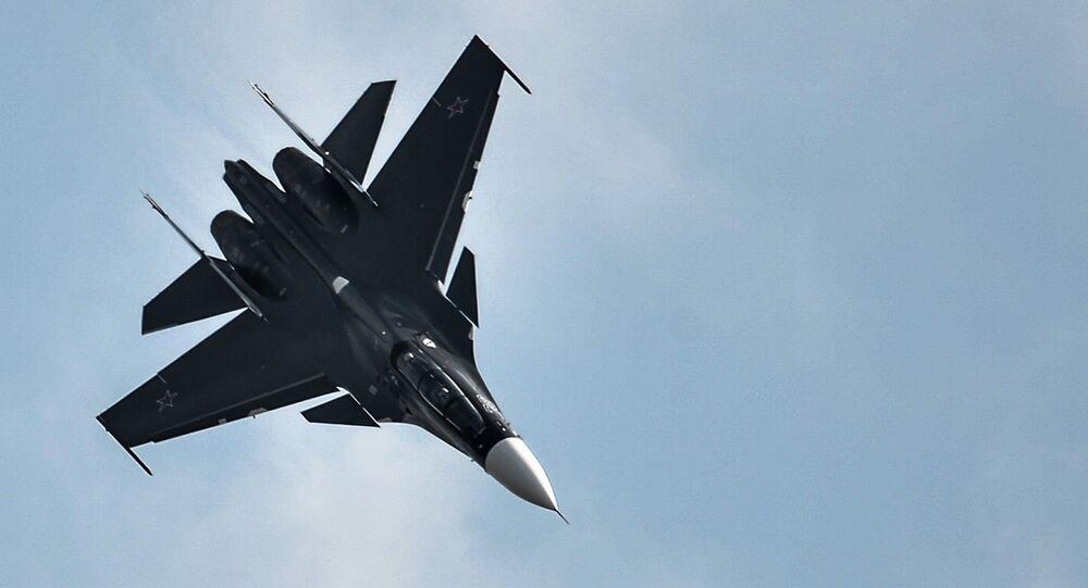 Su-30SM fighter jet. File photo