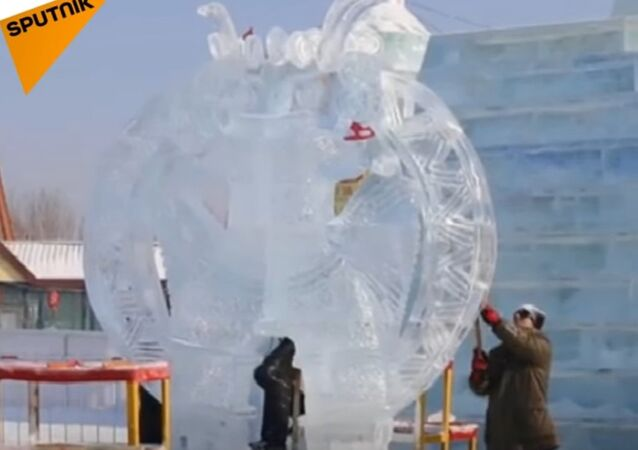 International Ice Sculpture Competition In Harbin