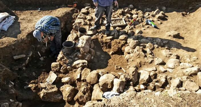 Archaeological excavations in Israel (File)