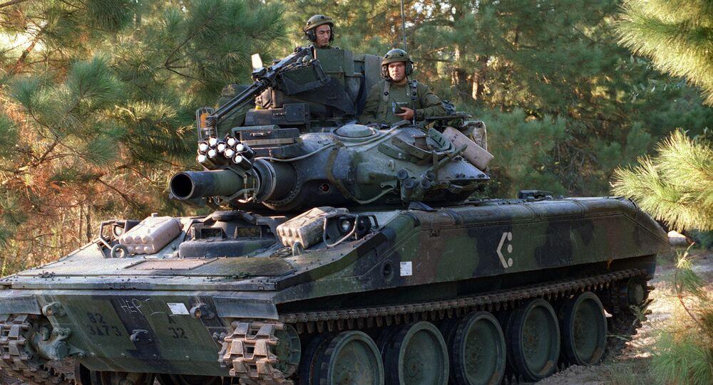 M551A1 Sheridan light tank