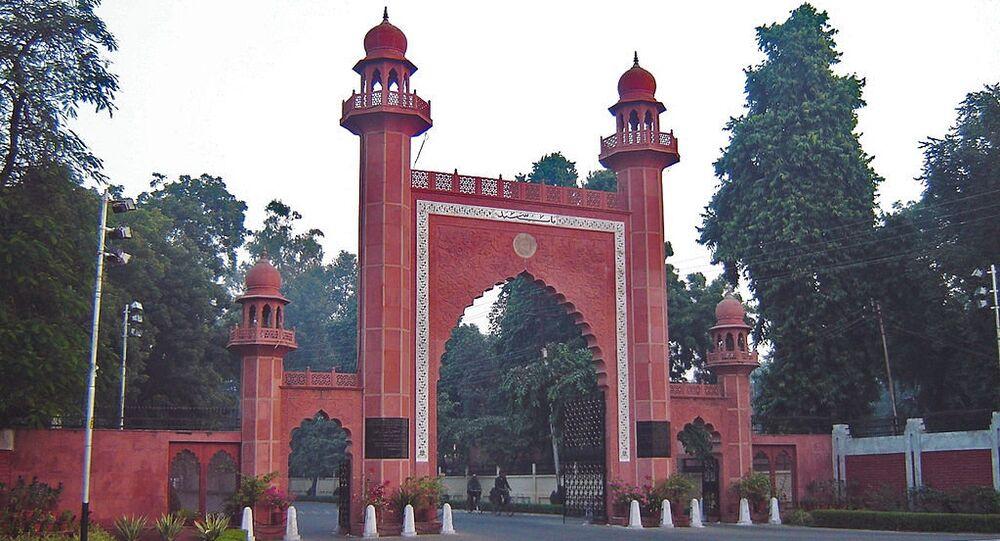 Bab-e-syed, the gateway to Aligarh Muslim University (AMU)