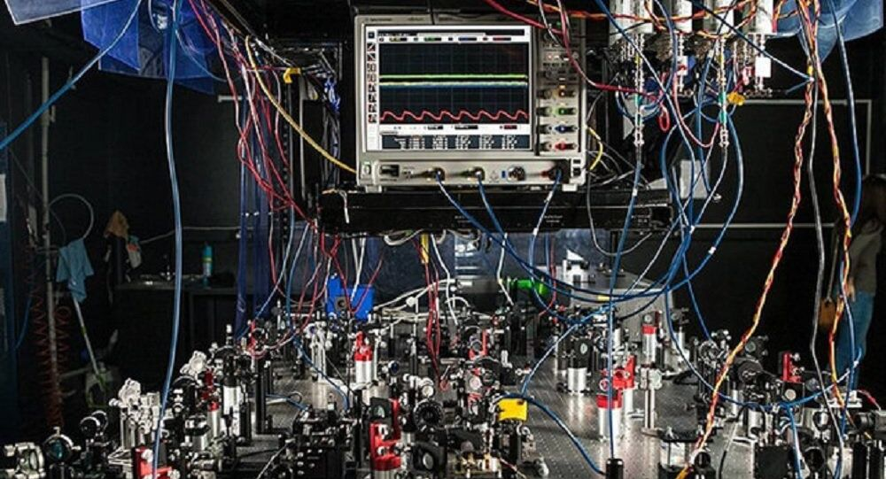 Quantum optics lab at the Russian Quantum Center