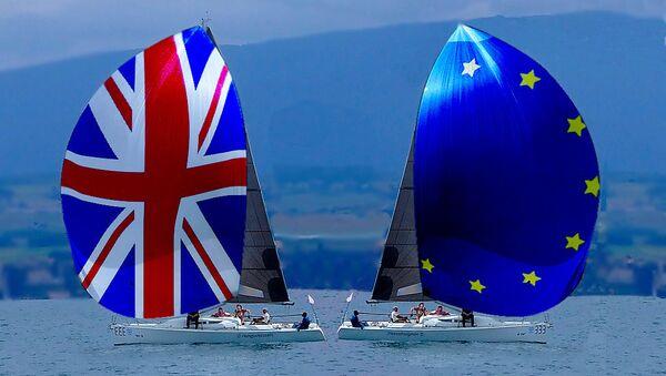 BBrexit sailing apart - bon voyage - Sputnik International