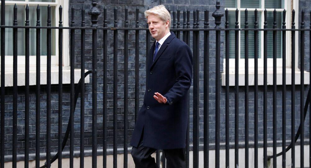 Jo Johnson arrives at 10 Downing Street, London, Britain January 9, 2018